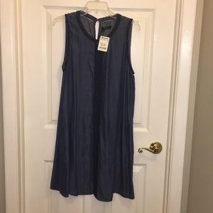 Dresses & Skirts - Women's denim sleeveless dress